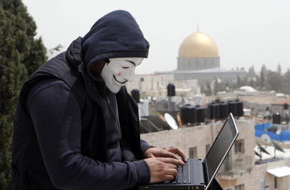 دولي- ''أنونيموس'' يعلن عن اختراق مواقع اسرائيلية حكومية نصرة للأقصى