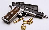 باجة : حجز مسدس و12 رصاصة في قبلاط