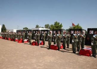 وزارة الدفاع تُعلن قائمة العسكريين الذين استشهدوا أمس بالشعانبي