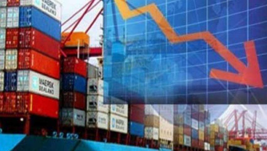 انخفاض كبير في عجز الميزان التجاري المصري