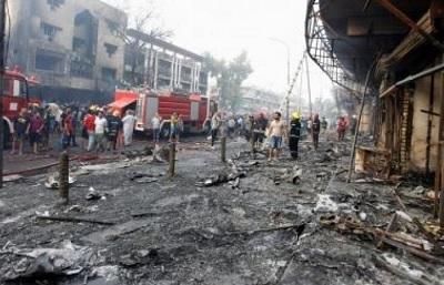 16 قتيلا في تفجير انتحاري ببغداد