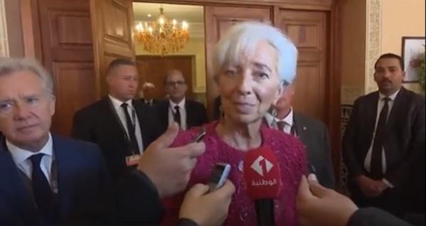كرستين لاغارد: مسار الإصلاحات في تونس سيكون طويلا وصعبا(فيديو)