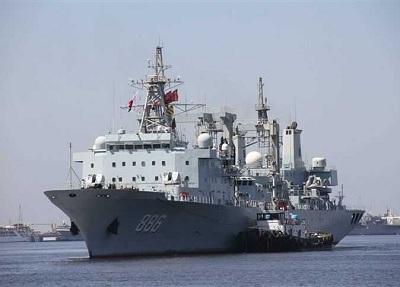 أسطول حراسة تابع للبحرية الصينية في زيارة ودية إلى تونس