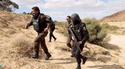 العثور على جثة إرهابي ثان قتل في مواجهات السبت
