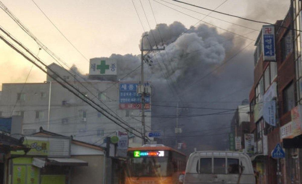 مقتل 41 شخصا في حريق بمستشفى في كوريا الجنوبية