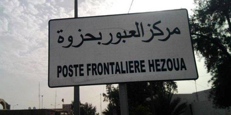 5 مارس القادم: الإنطلاق في الإستغلال الجزئي للمعبر الحدودي الجديد بحزوة