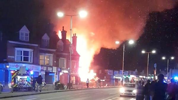 بريطانيا: 4 قتلى في انفجار مدينة ليستر