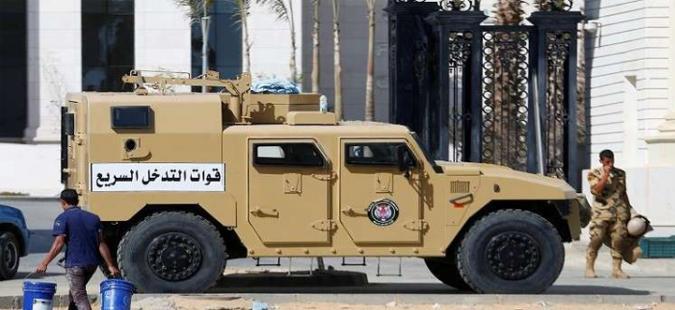 مصر: مقتل 7 عسكريين مصريين و71 ارهابيا في عملية سيناء