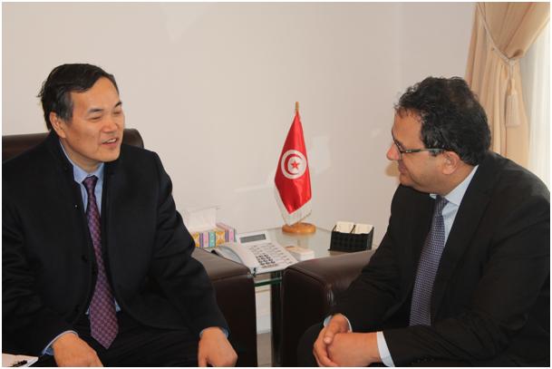 زياد العذاري يبحث سبل الارتقاء بالتعاون الاقتصادي التونسي الصيني
