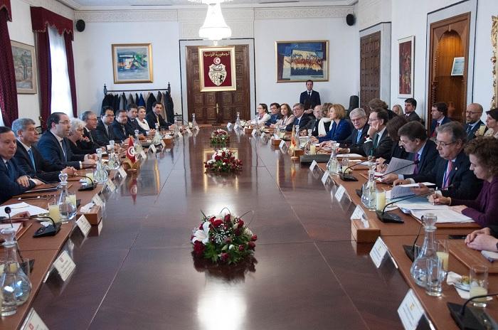 انطلاق أشغال الدورة الثامنة للإجتماع رفيع المستوى التونسي الإسباني