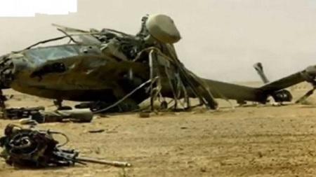 وفاة عسكري إثر سقوط مروحية ببوفيشة