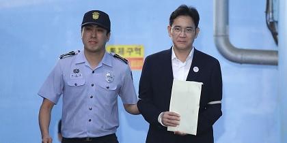"""الإفراج عن وريث شركة """"سامسونج"""" فى كوريا الجنوبية"""