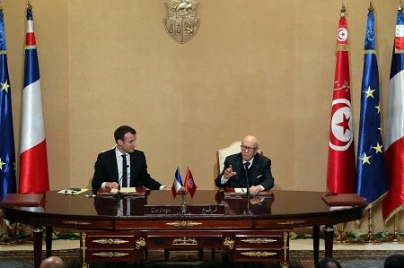 توقيع 8 إتفاقيات مشتركة بين تونس وفرنسا … التفاصيل
