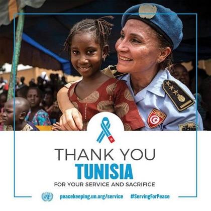 الأمم المتحدة تشكر تونس لمساهمتها في عمليات حفظ السلام في العالم