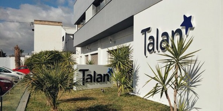 الشاهد يضع حجز الأساس لمركز تطوير تكنلوجيات المعلومات لشركة TALAN