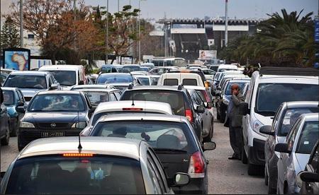 رُبع مليون سيارة تونسية تتجول دون شهادة الفحص الفني
