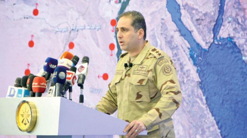 مصر: مقتل 105 إرهابيين في عملية سيناء