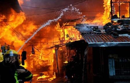 مقتل 4 اشخاص حريق بفندق في الفلبين