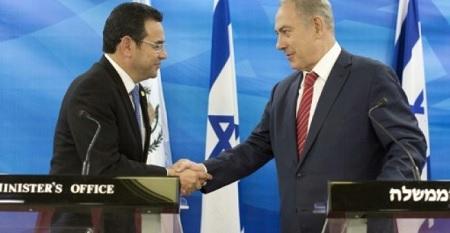 غواتيمالا تُقرّر نقل سفارتها في إسرائيل إلى القدس
