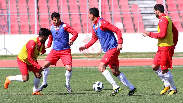 المنتخب الوطني ينهي تحضيراته استعدادا للقاء كوستاريكا