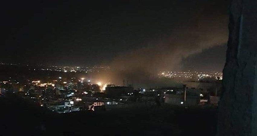 عدوان ثلاثي على سوريا وعشرات الصواريخ تستهدف دمشق