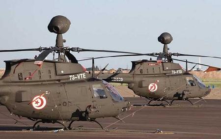صفاقس: وفاة عسكريين إثر سقوط طائرة تدريب
