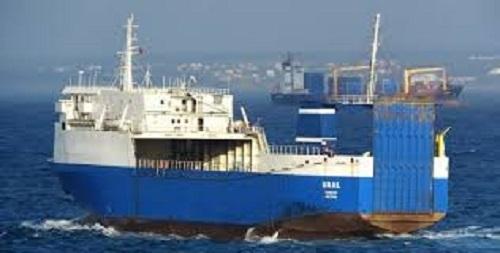 الباخرة البنمية تغادر ميناء صفاقس بعد مصادرة شحنتها العسكرية