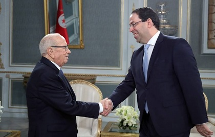 الوضع العام بالبلاد محور لقاء رئيس الجمهورية برئيس الحكومة