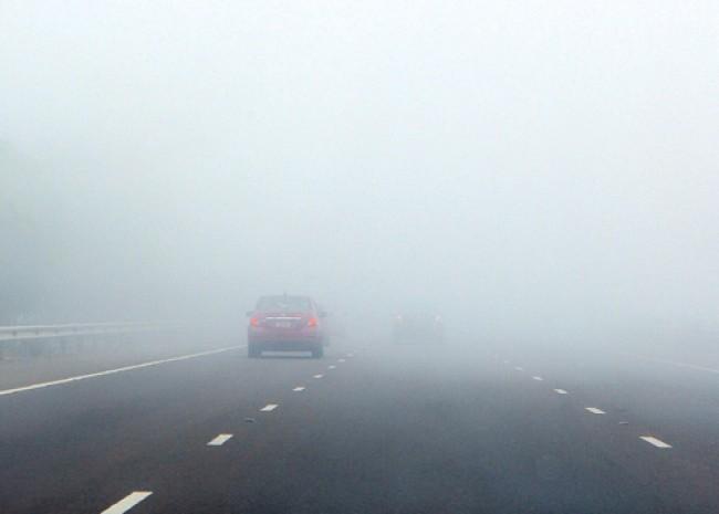 الإدارة العامة للمرور تحذر مستعملي الطريق من وجود ضباب كثيف