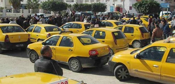 أصحاب سيارات التاكسي الفردي في إضراب مفتوح