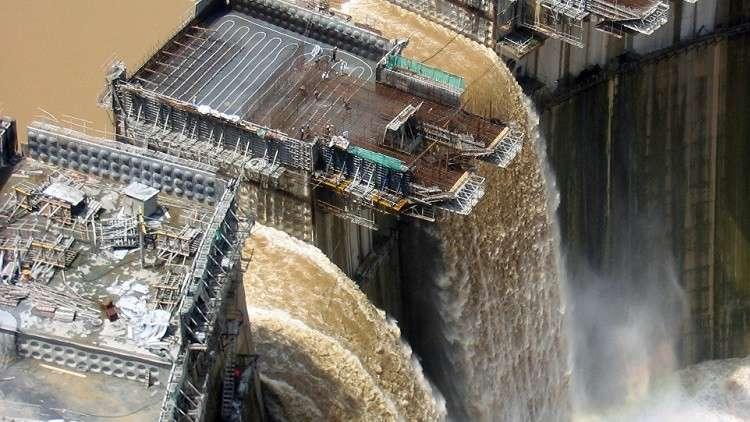 اكتمال بناء 66% من سد النهضة الإثيوبي