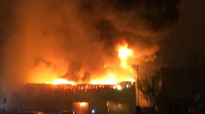10 إصابات في حريق بشمال لندن