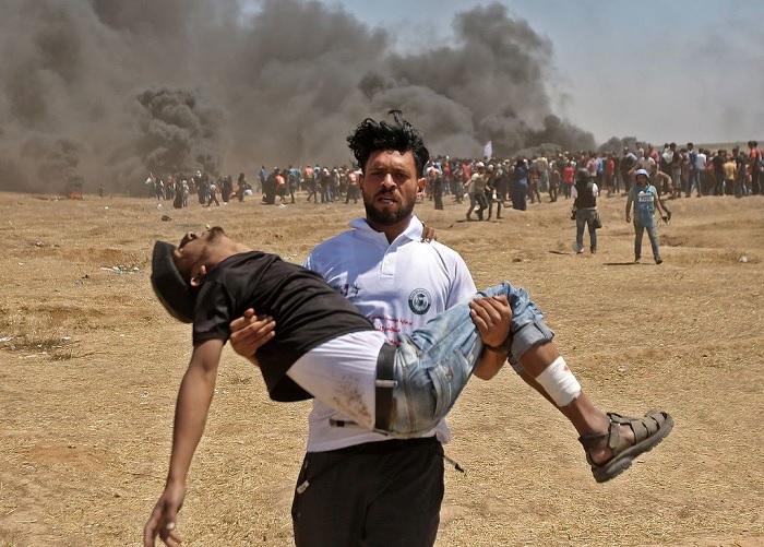 استشهاد 41 فلسطينيا في مواجهات مع جيش الاحتلال بقطاع غزة