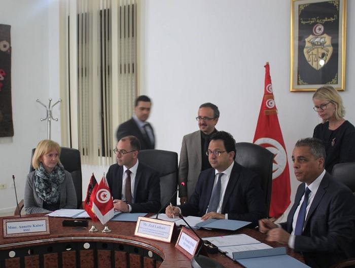 المؤسسة الالمانية للقروض من اجل اعادة الاعمار تٌقرض تونس 82 مليون  اورو