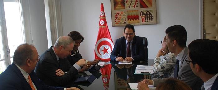وزير التنمية يلتقي مديرة الشرق الاوسط وشمال افريقيا بالبنك العالمي