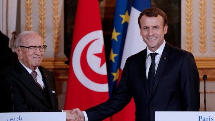 السبسي في زيارة الى فرنسا بدعوة من ايمانويل ماكرون