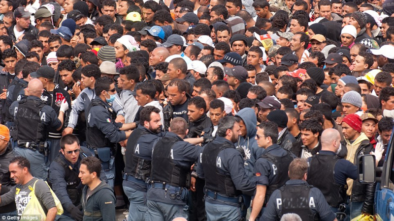 25 الف تونسي يقيمون بطريقة غير شرعية في أوروبا