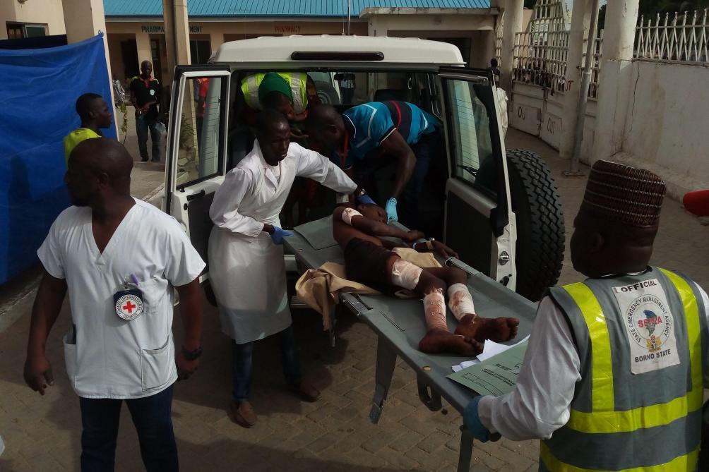 ارتفاع عدد ضحايا الهجوم الانتحاري في نيجيريا إلى 43 قتيلا