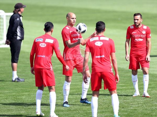 تشكيلة المنتخب التونسي ضدّ بلجيكيا