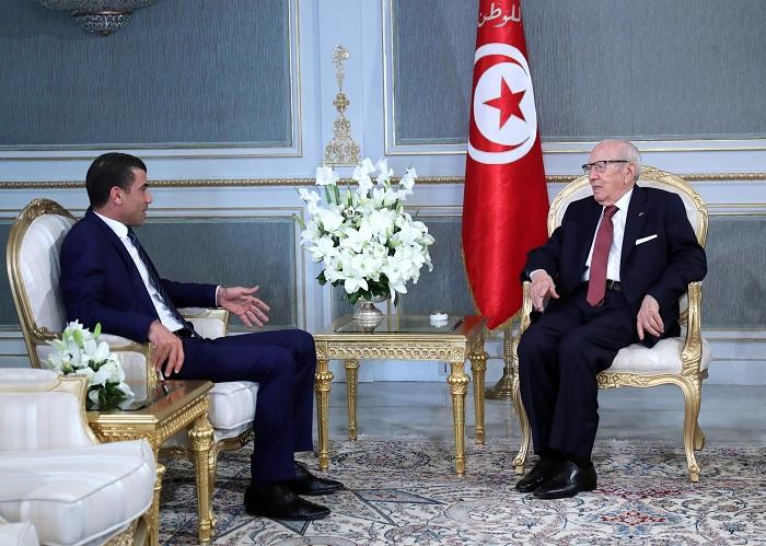 المحطات الانتخابية القادمة محور لقاء القائد السبسي بمحمد المنصري