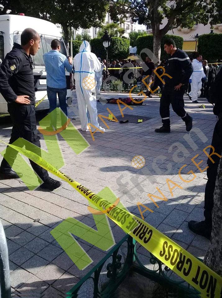 امرأة تُفجر نفسها في شارع الحبيب بورقيبة بالعاصمة
