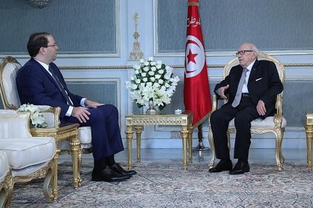 رئيس الجمهورية يلتقي رئيس الحكومة