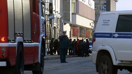 تفجير انتحاري عند مدخل مقر الأمن الفيدرالي شمال روسي