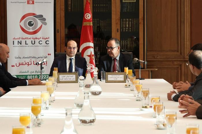 اتفاقية شراكة بين وزارة أملاك الدولة و هيئة مكافحة الفساد