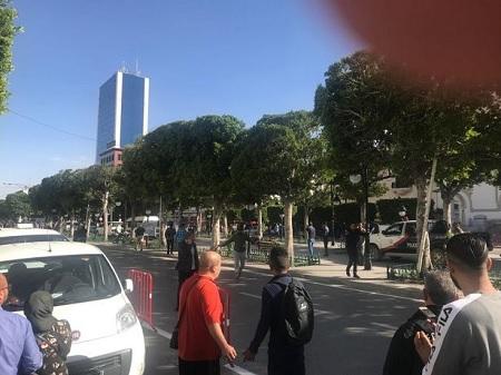 بلاغ وزارة الداخلية بخصوص التفجير الانتحاري بالعاصمة