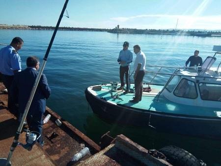 تسرّب كميات من النفط الخام بالواجهة البحرية للرصيف البترولي في جرزونة