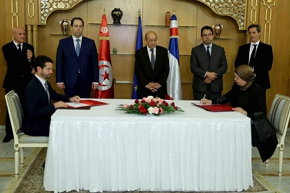 التوقيع على جملة من الاتفاقيات بين تونس و فرنسا بقيمة 49 مليون أورو