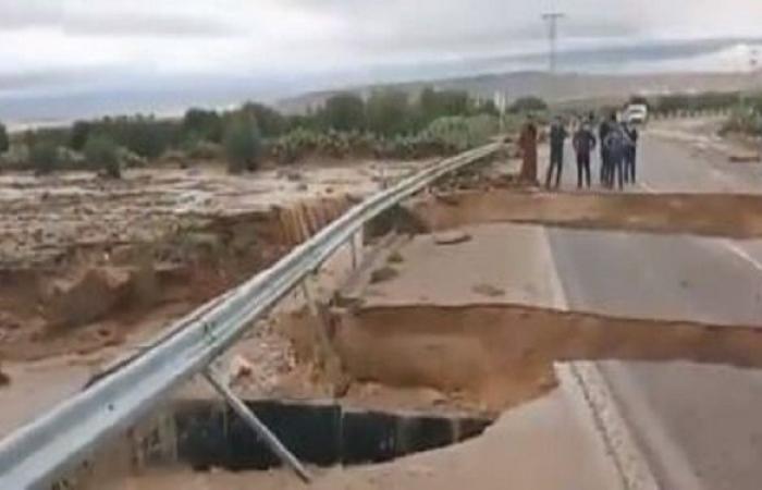 انهيار جسر ماجل بلعباس: وزير التجهيز يقول إنّ المقاول لا يتحمل المسؤولية