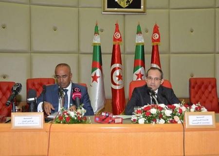 اللّقاء المشترك الأوّل لولاّة الولايات الحدوديّة بين تونس والجزائر