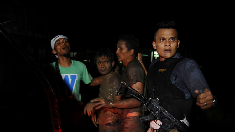 هروب أكثر من 100 سجين في إندونيسيا